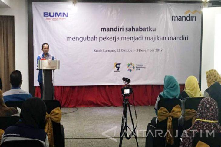 TKI di Malaysia Dilatih Berwirausaha oleh Mandiri