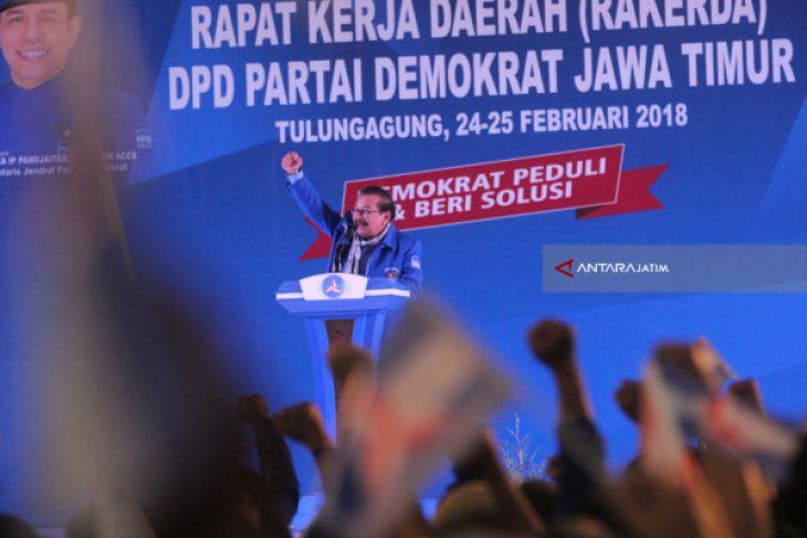 Pakde Karwo Belum Sikapi Keputusan Demokrat Dukung Prabowo