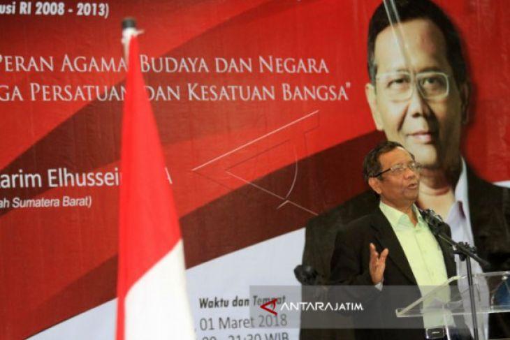 PSI Jagokan Mahfud MD Dampingi Jokowi di Pilpres 2019