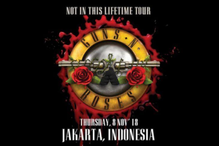 Guns N'Roses Kembali Sambangi Penggemar di Indonesia