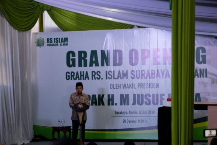 Wapres Puji Pelayanan dan Fasilitas RSI Surabaya