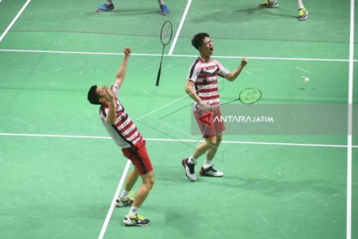 Marcus/Kevin Bangkit untuk  Tiket Semifinal Indonesia Terbuka