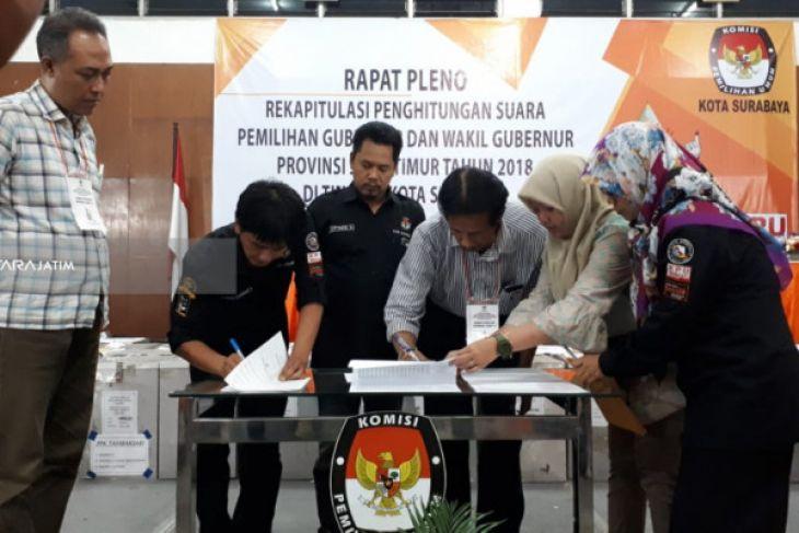 Polemik Rekapitulasi Perolehan Suara Pilkada Jatim di Surabaya