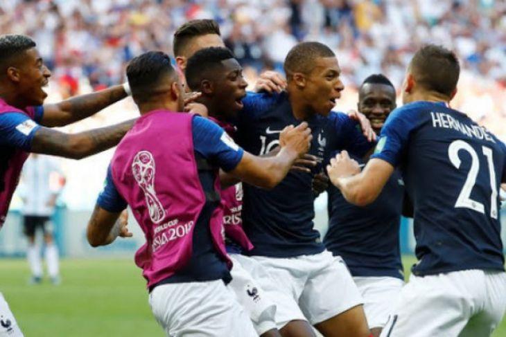 Prancis Juara Dunia 2018