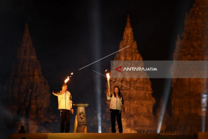 Torch Of Asian Games Arrives In Blitar