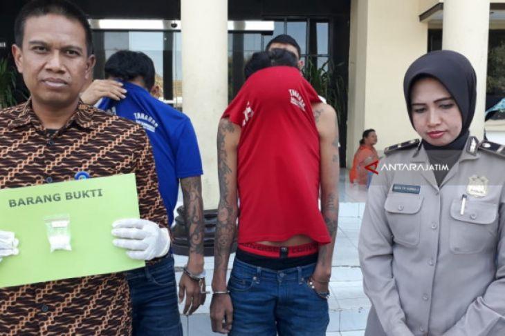 Polisi Ringkus Pengedar Narkoba asal Mojokerto
