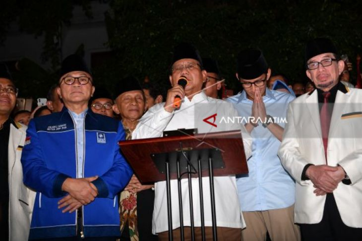 Coalition Discuses Prabowo's Running Mate On Thursday Night