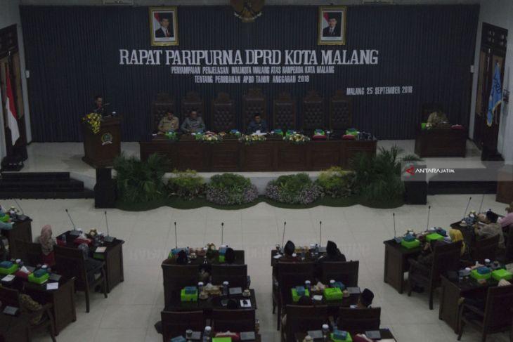 Wali Kota Malang Ajukan RAPBD-P 2018