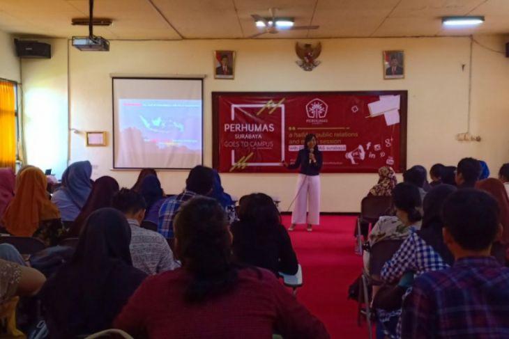 Perhumas Surabaya Ajak Mahasiswa Kampanyekan Bicara Baik