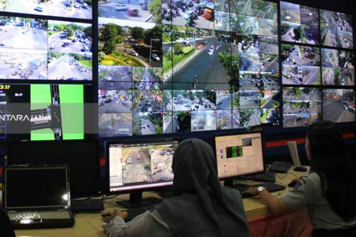 600 Titik CCTV di Surabaya Dilengkapi Alat Pendeteksi Wajah