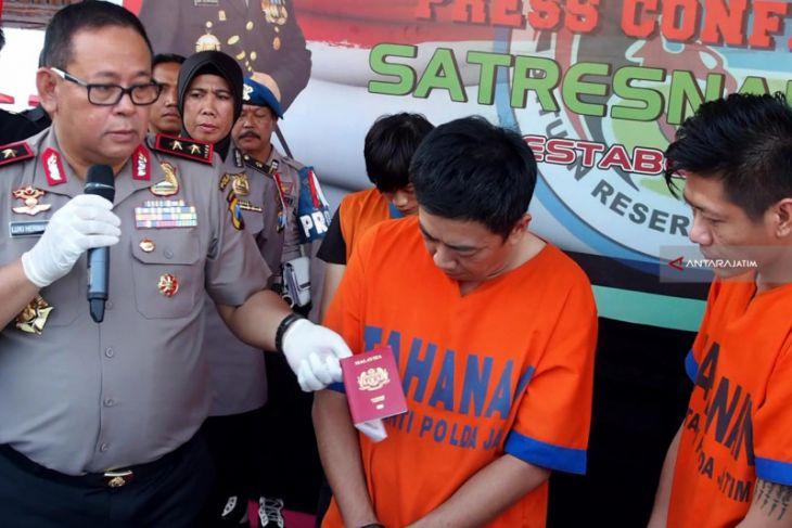 Polisi Tangkap Dua Pengedar Narkoba asal Malaysia