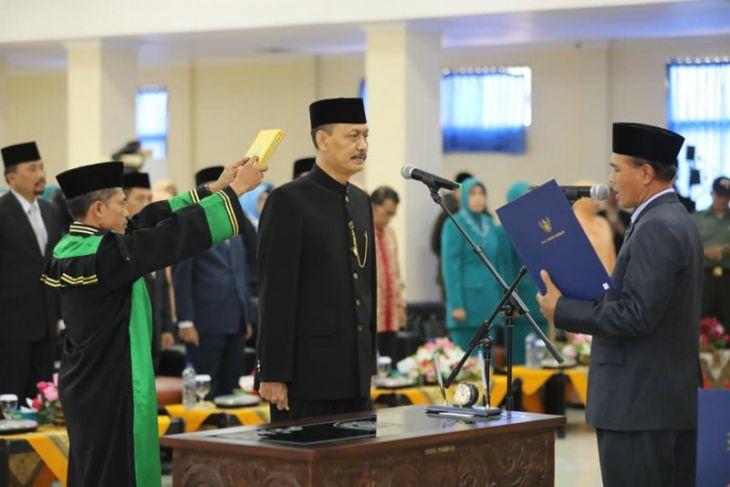 Wali Kota Madiun Lantik Rusdiyanto Sebagai Pejabat Sekda