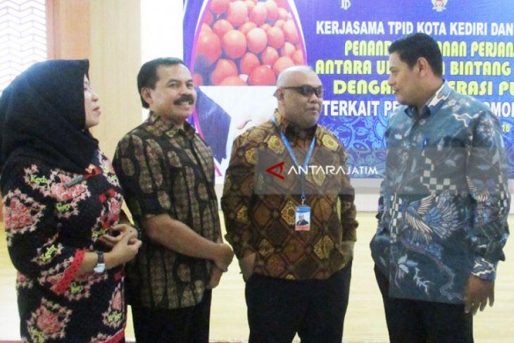 Dinsos : Program BPNT Kediri Butuhkan 3-4 Ton Telur Ayam Per Bulan