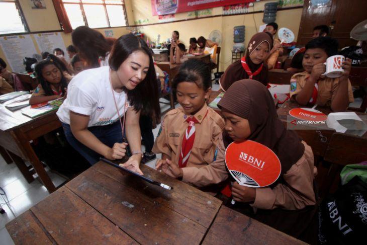 BNI Gelar Aksi Millenial Mengajar 1.000 Pelajar