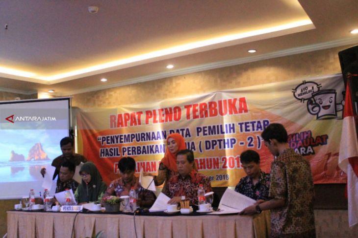 DPT Hasil Perbaikan Kedua Pemilu 2019 di Surabaya Bertambah