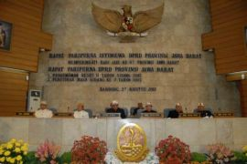 DPRD jabar apresiasi kepemimpinan Aher-Demiz