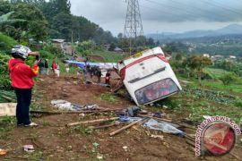 Bus yang Kecelakaan di Puncak Tidak Laik Jalan