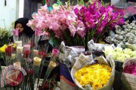 Pedagang bunga sedap malam di Bandung untung