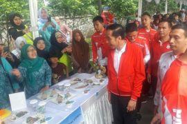 Jokowi Secara Mendadak Hadiri Festival Kuliner Ikan