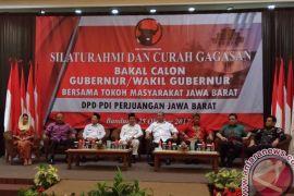 Delapan Tokoh  Hadiri Curah Gagasan PDIP Jabar