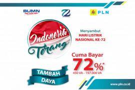 Promo Indonesia Terang di Hari Listrik Nasional ke-72