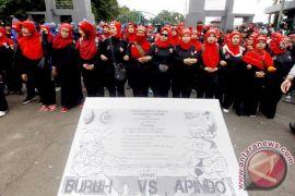 Unjuk Rasa Buruh Kabupaten Bogor