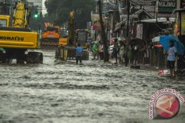 Kota Bandung dikepung banjir