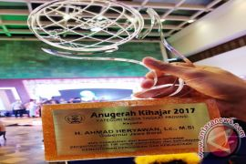 Pemprov Jabar Raih Penghargaan Kihajar 2017