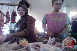 Harga daginng ayam di Garut capai Rp50 ribu/kg