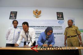 PDAM  pasok air bersih ke Bandara Kertajati