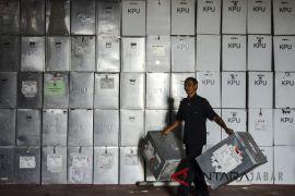 KPU Cianjur terima logistik pemilu secara bertahap
