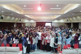 Ratusan mahasiswa deklarasi  dukung  TB Hasanuddin