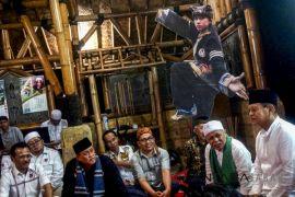 Cagub Jabar Sudrajat Bertemu Budayawan Bogor