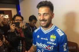 Bauman bisa tampil saat lawan Sriwijaya FC