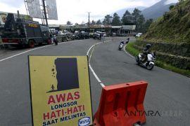 Jalan Naringgul-Bandung sudah dapat dilalui