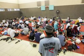 Buka puasa warga binaan Lapas Cibinong