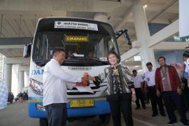Damri moda transportasi pertama terintegrasi ke Bandara Kertajati