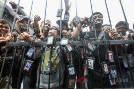 Aksi tolak kekerasan terhadap wartawan