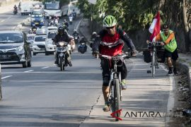 Mudik dengan sepeda onthel