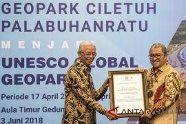 Penetapan Geopark Ciletuh Palabuhanratu jadi Unesco Global Geopark