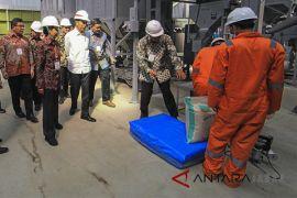 Presiden kunjungi sentra pengolahan beras terpadu
