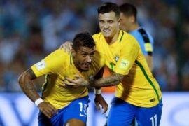 Brasil-Swis  bermain imbang