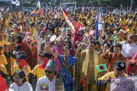 Parade budaya Asian Games 2018