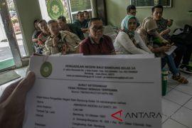 Permintaan surat TPST bakal calon Legislatif