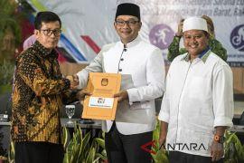 Dua mantan pimpinan KPK tergabung di Tim Sinkronisasi Ridwan Kamil-Uu