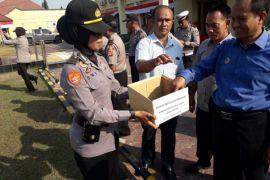 Polres Cirebon kumpulkan donasi korban Gempa Lombok