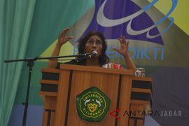Kuliah umum Menteri KKP Susi Pudjiastuti
