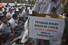 Muslim Garut kumpulkan uang untuk warga Lombok
