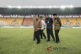 Wapres tinjau Stadion si Jalak Harupat