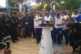 Obor Asian Games sampai di Cianjur
